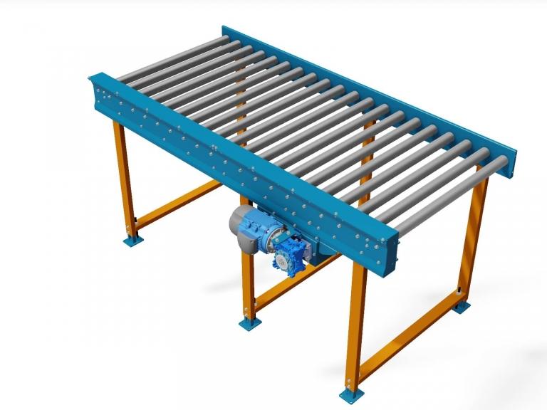 Chain Drive Powered Roller Conveyor - Roller beds - CITConveyors
