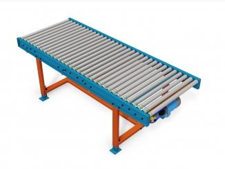 Lineshaft Powered Roller Conveyor