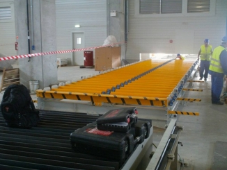 Lufkin - Live Roller Conveyor for Steel Plates