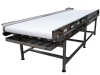 Gidacom - Stainless steel conveyor with collecting table