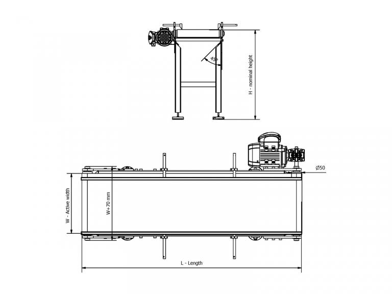 D50 PVC Belt Conveyor - Belt Conveyors, Conveyor Types - CITConveyors