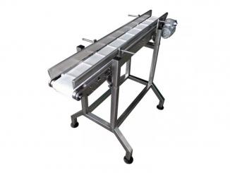 Stainless Steel - Polyurethane Belt Conveyor - Adjustable ...