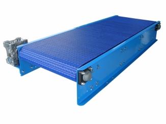 Mild Steel - Modular Belts - Horizontal Conveyor - No ...