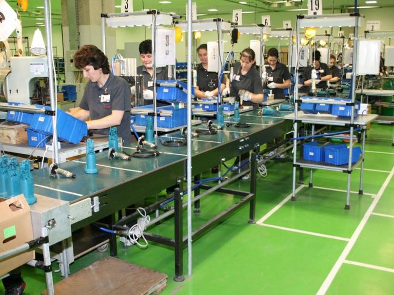 Makita Romania Power Tools Assembly Line Logistics
