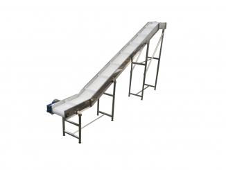 Stainless Steel Elevator - Modular belt