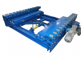 Mild Steel Live Roller Conveyor - With Pop Up System - ...