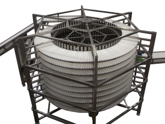 Spiral Conveyor - Stainless Steel - Modular Belt