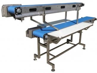 Stainless Steel - Polyurethane Belt Conveyor - Meat ...