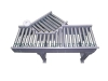 Roller conveyor - 30 degrees infeed - drive ...