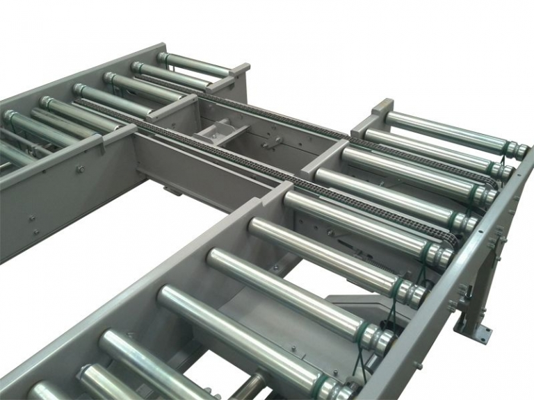 Chain 90 Degrees Transfer Unit Single Conveyor Projects