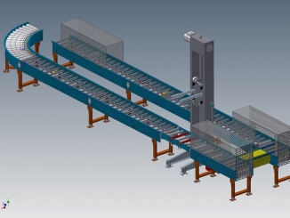 Undisclosed - Logistic conveyor system