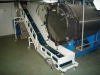 Medical wastes conveyor