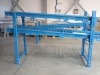 Double Gravitational roller bed - PVC rollers - for totes transport in Automotive project