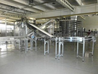 Bread conveyor line