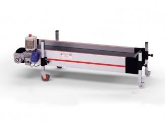 Horizontal conveyor - Aluminium profile structure