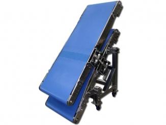 Double - Stainless Steel - Polyurethane Belt Conveyor