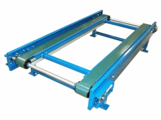 Double PVC Belt Conveyor - Mild Steel Structure