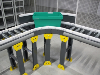 Farmexpert - Totes conveyor line - Iasi Warehouse