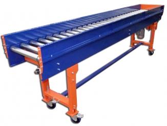Mild Steel - Driveshaft Roller Conveyor - Caster wheels - ...