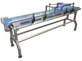 Stainless Steel Conveyor - Easy cleaning - Homogenous belt