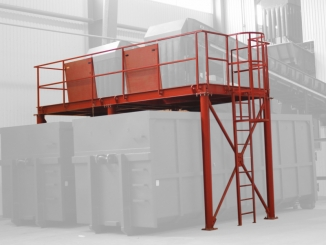 Mild Steel Support Structure for conveyors