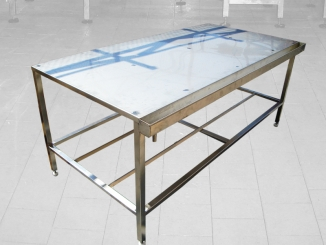 Stainless steel work table stainless steel table top