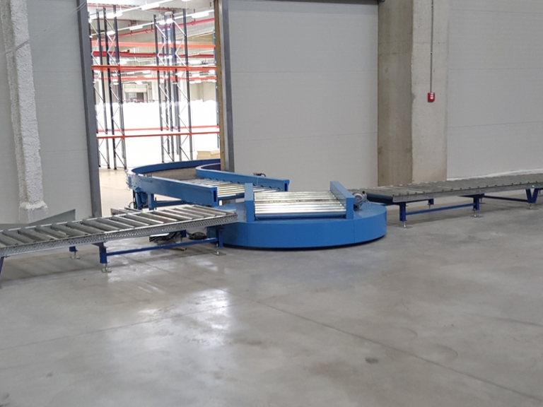 Furniture factory euro pallet conveyor line industries for Furniture factory