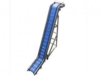 Stainless Steel - Swan Neck Polyurethane Conveyor