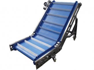 Stainless Steel - Swan Neck Polyurethane Conveyor - 1.300 ...