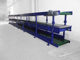 Docdata - Conveyor line for order inspection and packing