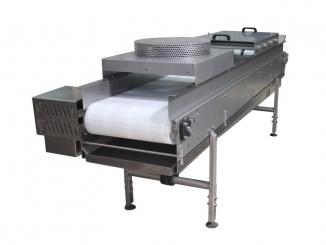 Stainless Steel Conveyor - With Sprinklers