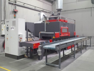 Faist Mekatronic - Belt Conveyor for Sand Blasted Aluminium ...