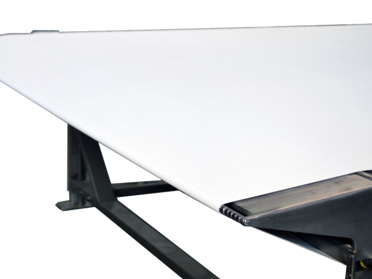 Nose Bar Knife Edge Central Drive Stainless Steel 2 600 Mm Wide Conveyor Single Conveyor Projects Industries Citconveyors