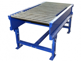Mild Steel - Gravitational Roller Conveyor - Steel Rollers ...