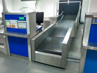 Airport Weigh In Conveyors - designed and produced by Self Trust Romania